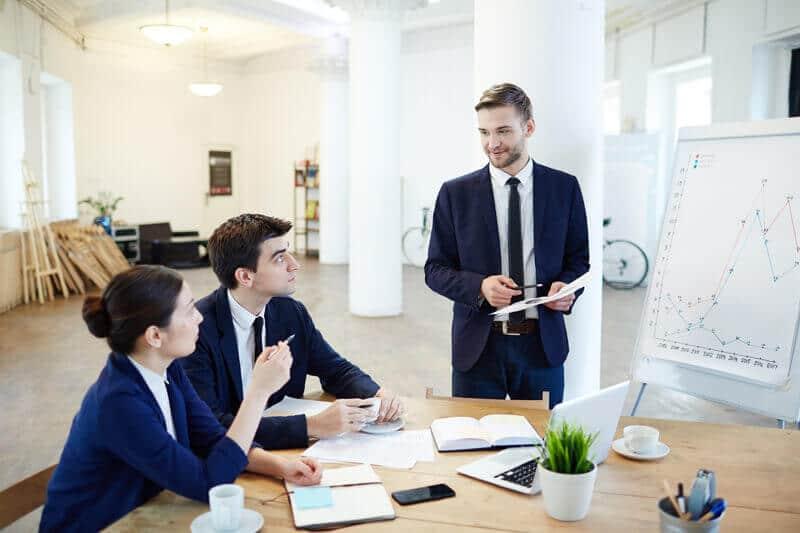 Indicadores financeiros empresariais