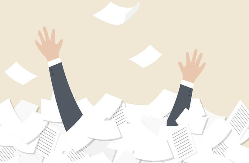 O que é gestão de documentos